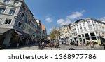 liege  belgium   april 11  2019 ... | Shutterstock . vector #1368977786