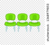 green airport seats icon in...   Shutterstock . vector #1368979853