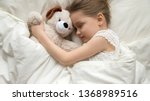 above top view adorable slumber ... | Shutterstock . vector #1368989516