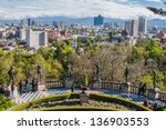 pictures taken in mexico city | Shutterstock . vector #136903553