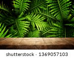 wooden table in front of... | Shutterstock . vector #1369057103