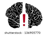 alcoholism | Shutterstock .eps vector #136905770