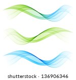 abstract color wave design... | Shutterstock .eps vector #136906346