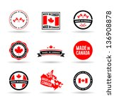 made in canada. vol 1. | Shutterstock .eps vector #136908878