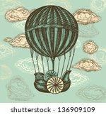 Vector Hand Drawing Balloon...