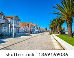 costa nova  portugal  colorful... | Shutterstock . vector #1369169036