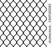fence link pattern. seamless... | Shutterstock .eps vector #1369182083