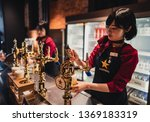 sapporo  japan  april 3  2019 ... | Shutterstock . vector #1369183319