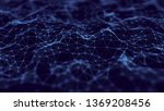 abstract technology background. ... | Shutterstock . vector #1369208456