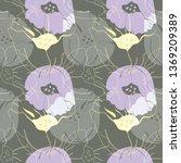 vector illustration of stylized ... | Shutterstock .eps vector #1369209389
