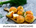 home made arancini with tuna . ...   Shutterstock . vector #1369216340