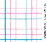 Seamless Tartan Girly Pattern ...