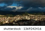 panoramic view of the city of... | Shutterstock . vector #1369242416