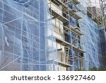reform of buildings with... | Shutterstock . vector #136927460