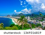 Copacabana beach in rio de...