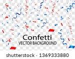 vector confetti. festive... | Shutterstock .eps vector #1369333880