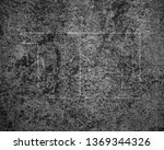 soccer field lines on old paper   Shutterstock . vector #1369344326