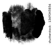 abstract black ink in water...   Shutterstock .eps vector #1369345856