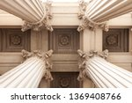 Court House Or Museum Pillars...
