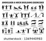 shoulder and neck building... | Shutterstock .eps vector #1369440983