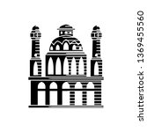 mosque icon vector illustration ... | Shutterstock .eps vector #1369455560