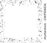silver confetti. silver texture ...   Shutterstock .eps vector #1369506026