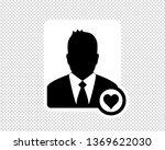 business man  favorite user... | Shutterstock .eps vector #1369622030