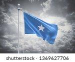3d rendering of somalia flag is ... | Shutterstock . vector #1369627706