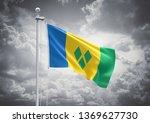 3d rendering of saint vincent... | Shutterstock . vector #1369627730