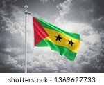 3d rendering of sao tome and... | Shutterstock . vector #1369627733