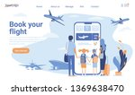 landing page template of book...   Shutterstock .eps vector #1369638470