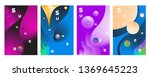 vector abstract colorful... | Shutterstock .eps vector #1369645223