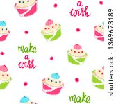 seamless pattern with colorful... | Shutterstock .eps vector #1369673189