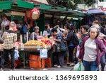 yaumatei hong kong   april 15 ...   Shutterstock . vector #1369695893
