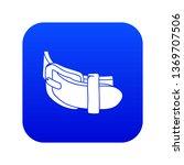 daily belt icon blue vector... | Shutterstock .eps vector #1369707506