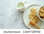 close up of cereal on white... | Shutterstock . vector #1369728950
