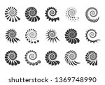 Swirl Design Element. Spiral...