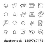 set of communication icons ... | Shutterstock .eps vector #1369767476