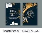 set of elegant  chic brochure ...   Shutterstock .eps vector #1369773866