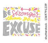 sports motivational hand...   Shutterstock .eps vector #1369791239