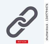 chain  link icon vector. link... | Shutterstock .eps vector #1369794476