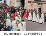 poland  czestochowa   14 april... | Shutterstock . vector #1369809536