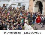 poland  czestochowa   14 april... | Shutterstock . vector #1369809539