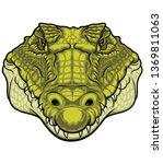 Green Head Crocodile