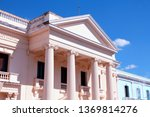 neoclassical architecture in... | Shutterstock . vector #1369814276