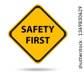 safety symbols and first signs  ... | Shutterstock .eps vector #1369830629