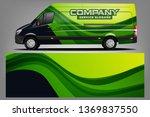 van wrap design. wrap  sticker...   Shutterstock .eps vector #1369837550