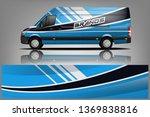 van wrap design. wrap  sticker... | Shutterstock .eps vector #1369838816