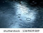 Raindrops Falling On A Lake...