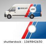 concept of van branding... | Shutterstock .eps vector #1369842650